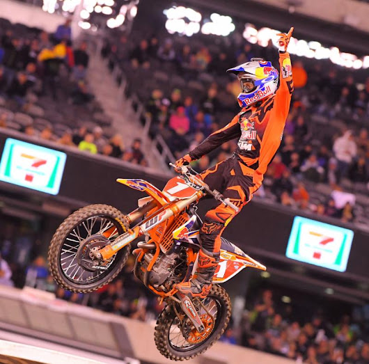 SPOILERS: 450SX results and coverage from East Rutherford Supercross