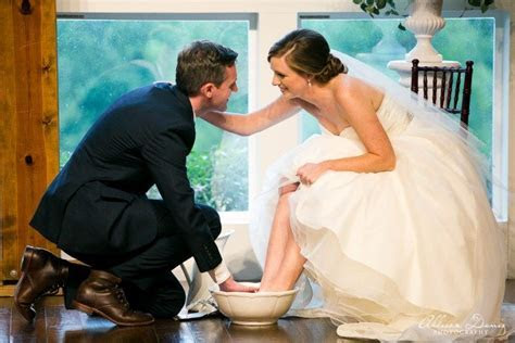 How We Incorporated Foot Washing Into Our Wedding Ceremony