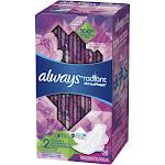 Always Radiant Heavy Flow Avec Flex Foam Pads - Size 2 - 26ct