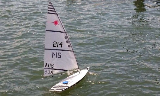 The RC Laser Sailboat