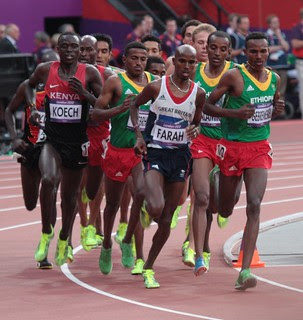 One Night with Mo Farah - Mo makes his move 4