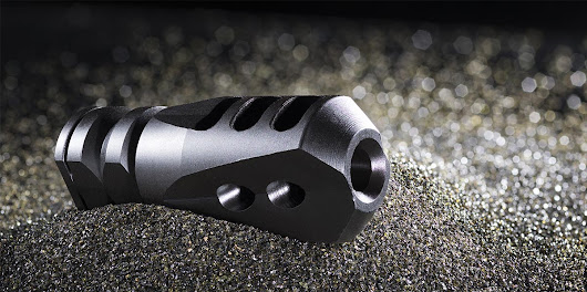 Mission First Tactical E2ARMD4 Compensator close looks