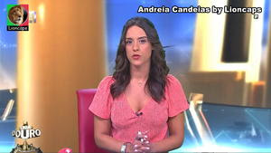 Andreia Candeias a sensual jornalista da Cmtv
