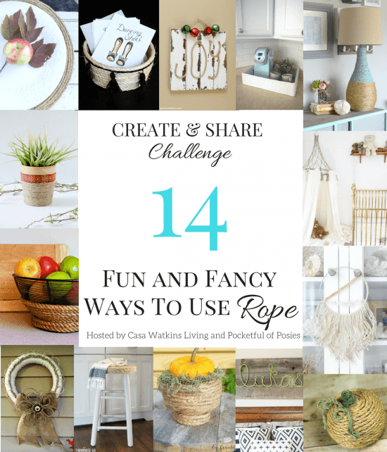 14 Fun and Fany DIY Rope Projects