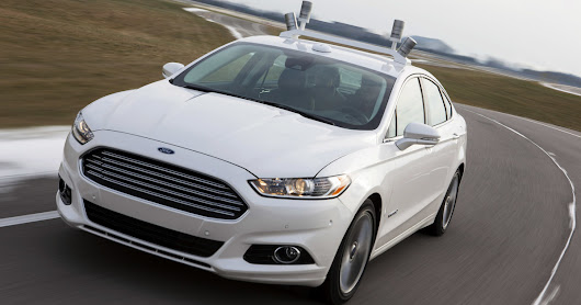 Ford's testing its self-driving cars at Mcity, the little fake town built for research