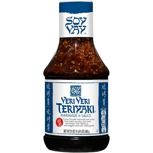 Soy Vay Marinade & Sauce, Veri Veri Teriyaki - 21 oz bottle