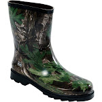 Realtree Outfitters Boys Waterproof Rubber Rain Boot