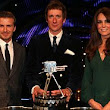 Glorious in green: Kate puts a tough few weeks behind her as she presents Sports Personality of the Year award