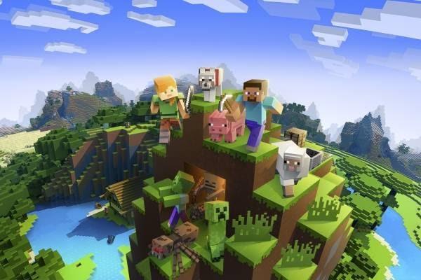"""El Seguimiento De Rayos En Tiempo Real Viene En El Videojuego """"Minecraft"""" Más Vendido Del Mundo."""