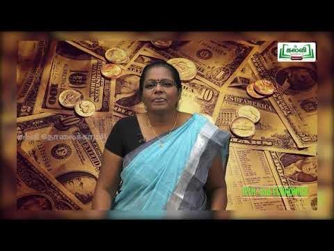 12th Economics அலகு 1 பேரியல் பொருளாதாரம் Kalvi TV