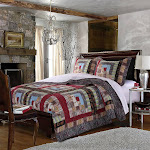 Greenland Home 3 Piece Colorado Lodge Quilt Set, King
