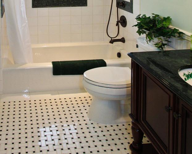 36 black and white vinyl bathroom floor tiles ideas and ...