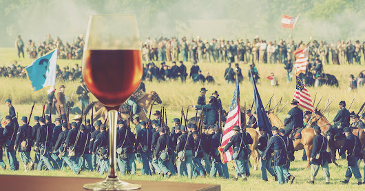 People Brought Wine to Watch a Civil War Battle