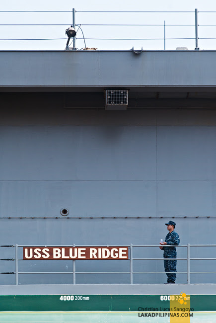The USS Blue Ridge