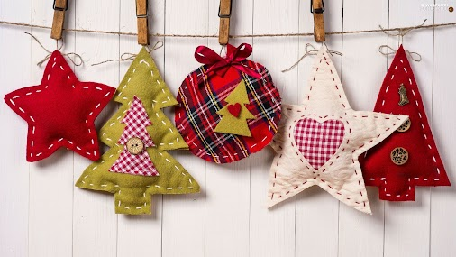 #For #desktop #wallpapers #full #hd #decor #pendants #Christmas #Fabric #backgrounds