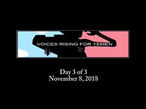 Voices Rising for Yemen - Day 3 of 3