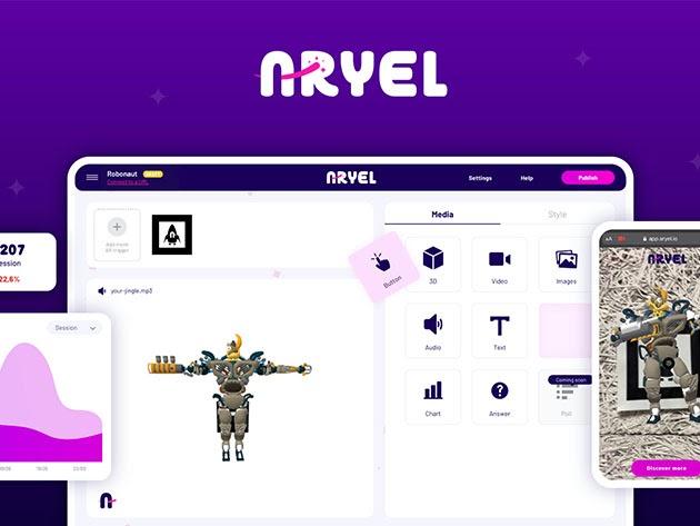 Aryel AR Marketing Platform: Lifetime Subscription for $69