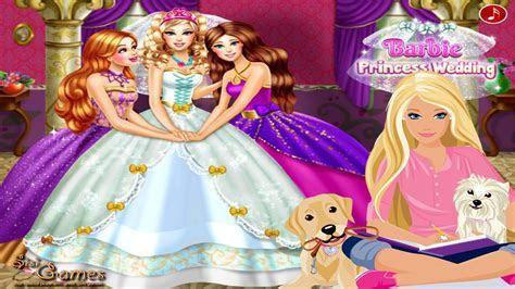 Barbie Princess Wedding Dress Up Games   Princess Game For