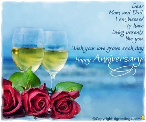 Dgreetings   Say Happy Anniversary to your parents with