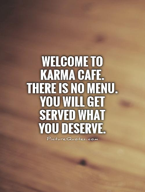 Welcome To Karma Cafe There Is No Menu You Will Get Served