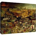 ArtWall Pieter Bruegel 'The Triumph of Death' Gallery-Wrapped Canvas 18x24