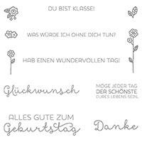 Landlust Clear-Mount Stamp Set (German) by Stampin' Up!