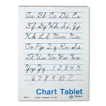 Chart Tablets, Unruled, 24 X 32, White, 25 Sheets/Pad