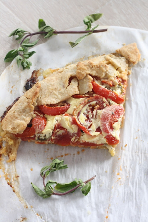Savory Tomato-Herb Galette