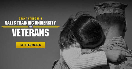 Grant Cardone Sales Training University for Veterans