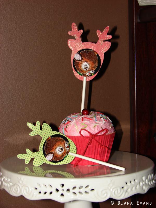 cupcakes reindeer toppers 014
