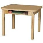 Wood Designs 1824DSKHPL18 Student Desk with 18 in. Hardwood Legs