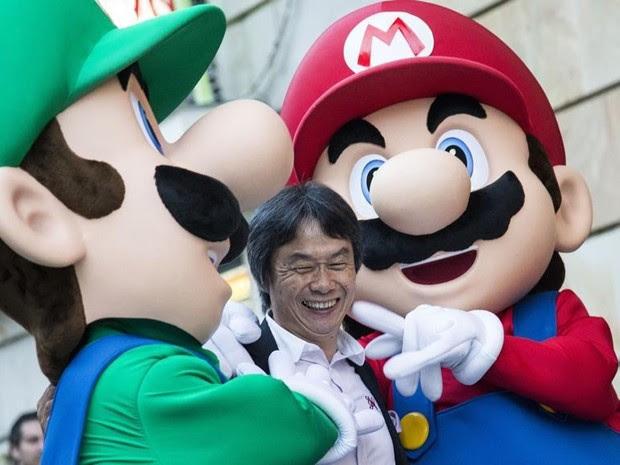 'Tomado pela tristeza' com morte de Iwata, diz 'pai' de 'Mario Bros.' e 'Zelda'