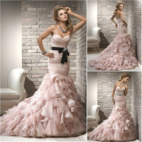Best Mermaid Wedding Dresses 2013 Collections   Fashion