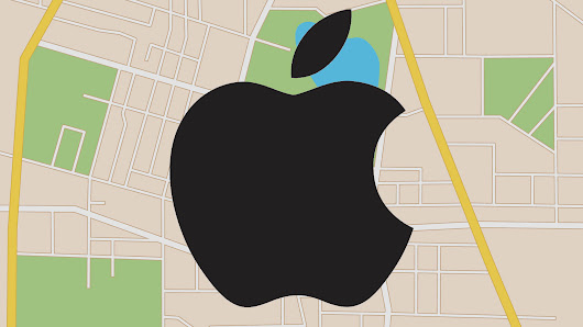 Apple hopes to enhance maps with indoor location and drone data collection