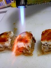 quemar el azúcar