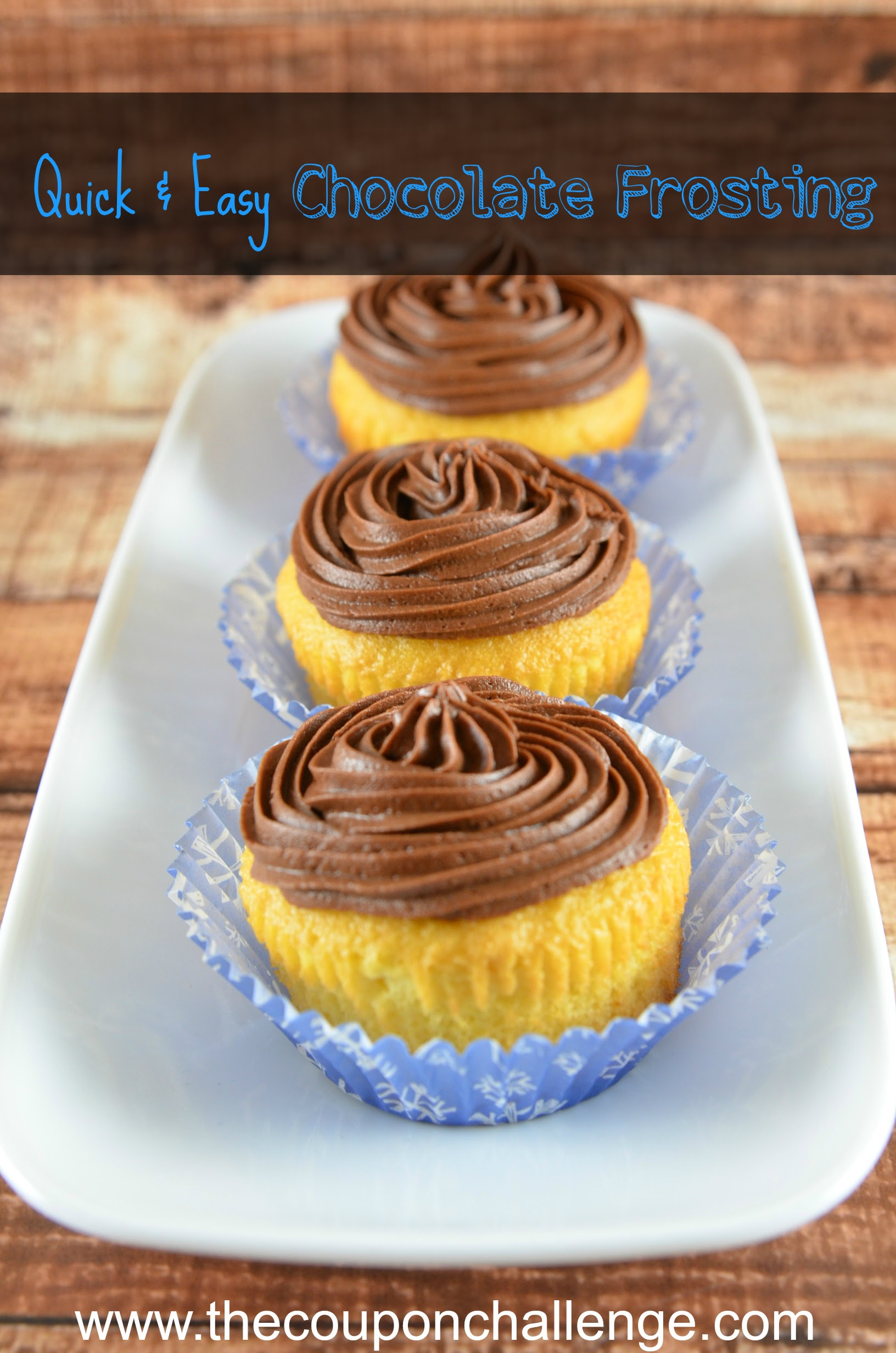 Quick Easy Chocolate Frosting I Quick Easy Homemade ...