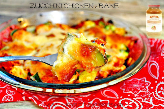 http://lauraslittlehousetips.com/zucchini-chicken-bake-recipe/ | Laura's Little House Tips
