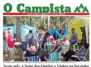 """Edição de 06/2017 do Jornal """"O Campista"""" do CCB"""