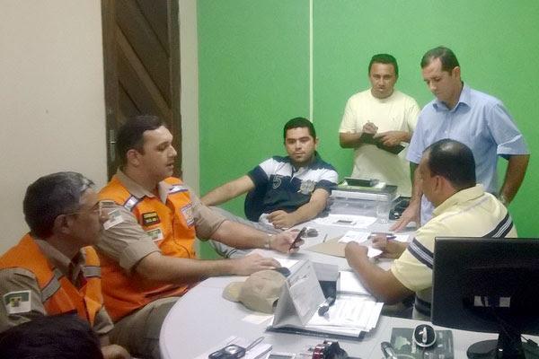 Prefeitura se reuniu com Defesa Civil para elaborar plano para população