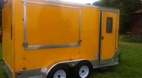 fully loaded concession trailer royal