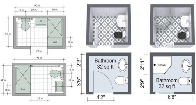 Small Bathroom Space Arrangement Creativity - Engineering Feed