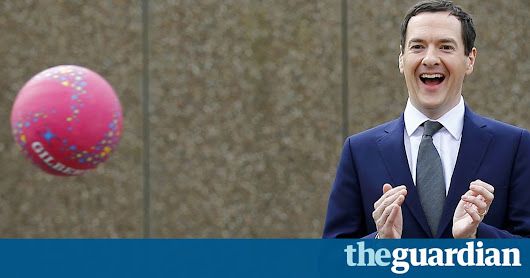 George Osborne is laughing at us as he takes his Evening Standard job | Aditya Chakrabortty | Opinion | The Guardian