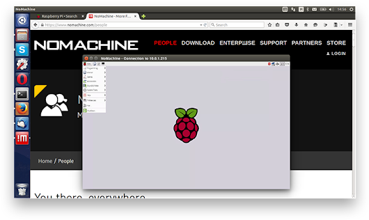 NoMachine - Tips on how to set up your Raspberry Pi for remote access via NoMachine