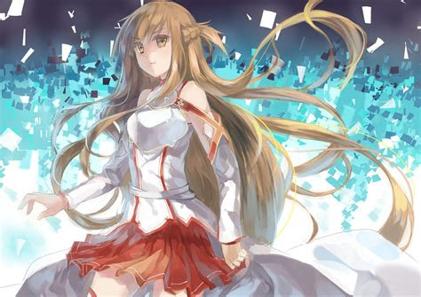 asuna  wallpapers  daily anime wallpaper  fan art