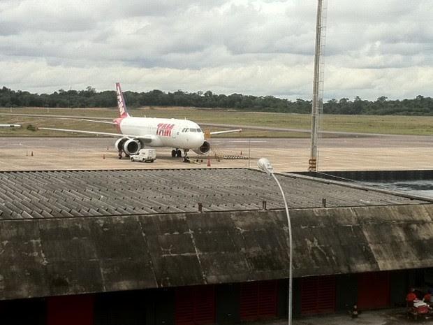 Infraero registrou sete choques de aves com aeronaves em Manaus neste ano até abril (Foto: Girlene Medeiros /G1 AM)