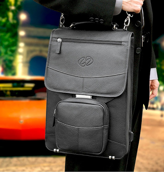 What type of laptop bag should I buy as a legal intern? Is a messenger bag with a strap too informal?