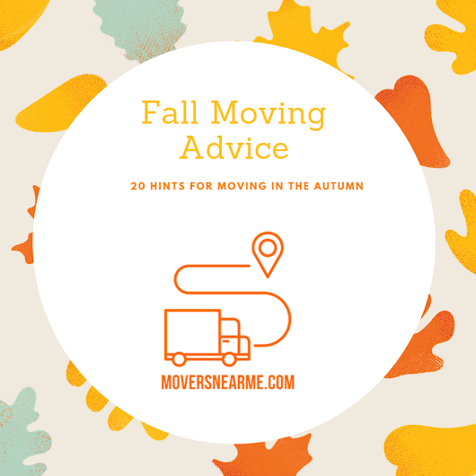 Moving Help 20 Hints for Moving in the Fall | Mover Help – Tips, Advice, and How To Move