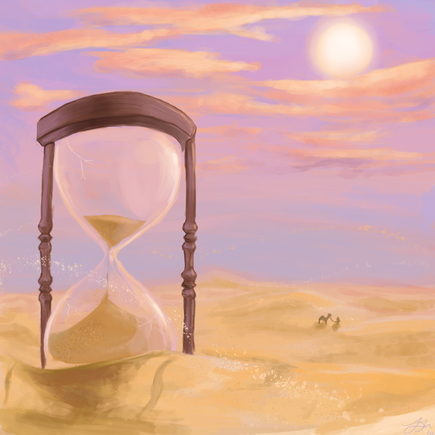 The Hourglass by Ushishi