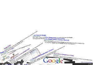 funny google gravity trick