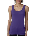 Next Level 3533 Women Jersey Tank Purple Rush